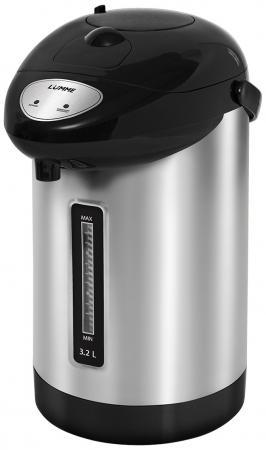 Термопот Lumme LU-296 900 Вт черный жемчуг 3.2 л нержавеющая сталь чайник lumme lu 134 2200 вт черный жемчуг 2 л стекло