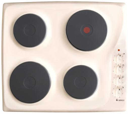 Варочная панель электрическая Gefest ЭС В СВН 3210 К81 кремовый варочная панель электрическая gefest 3210 к81
