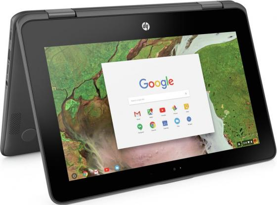 HP Chromebook x360 11 G1 Celeron N3350 1.1GHz,11.6 HD (1366x768) Touch BV,4Gb,32Gb,47Wh LL,1.4kg,1y,Gray,ChromeOS ноутбук hp chromebook 13 g1 core m3 6y30 4gb 32gb 13 3 qhd chromeos silver