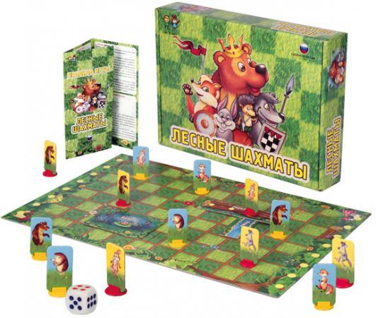 Настольная игра логическая Биплант Лесные шахматы настольные игры биплант настольная игра классики 10032