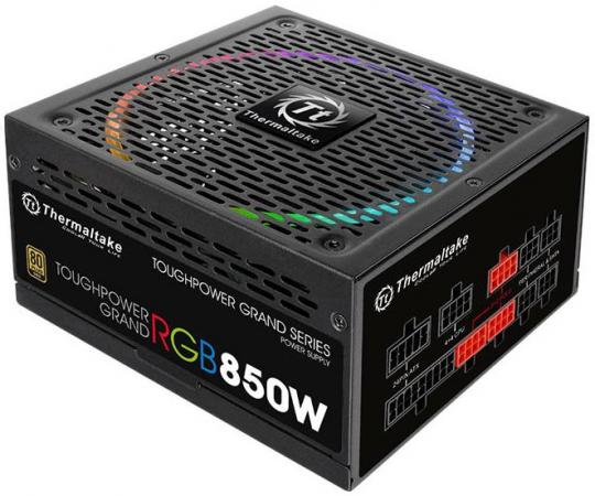 Блок питания ATX 850 Вт Thermaltake PS-TPG-0850FPCGEU-R блок питания пк thermaltake toughpower grand rgb 750w ps tpg 0750fpcgeu r