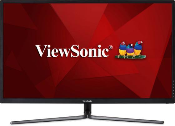 Монитор 32 ViewSonic VX3211-2K-MHD черный IPS 2560x1440 250 cd/m^2 3 ms VGA HDMI DisplayPort Аудио