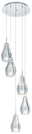 Подвесная люстра Eglo Alvaredo 96426 подвесной светильник eglo alvaredo 96424