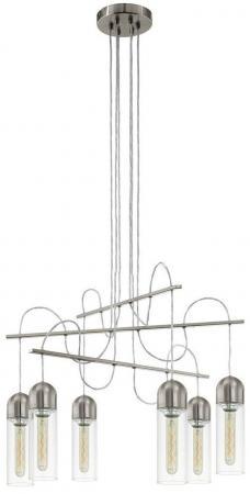 Подвесная светодиодная люстра Eglo Zacharo 96943 подвесная светодиодная люстра eglo pontevedra 95394