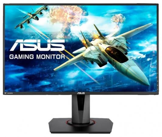 "Монитор 27"" ASUS VG278Q черный TN 1920x1080 400 cd/m^2 1 ms DVI HDMI DisplayPort Аудио 90LM03P0-B01370 монитор asus vx278h 27 tft tn black"