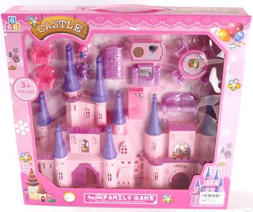 Замок для кукол Shantou Gepai Castle 9 предметов игра shantou gepai замок моя мечта для кукл sg 29002
