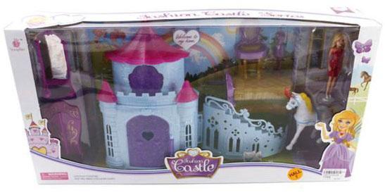 """Замок для кукол Shantou Gepai """"Fashion Castle"""" 8 предметов платье для кукол shantou gepai"""