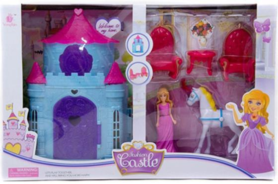 Замок для кукол Shantou Gepai Fashion Castle игра shantou gepai замок моя мечта для кукл sg 29002