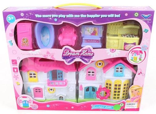 Игровой набор Shantou Gepai Sweet Home 6 предметов игровой набор shantou gepai парикмахер 8 предметов 22146