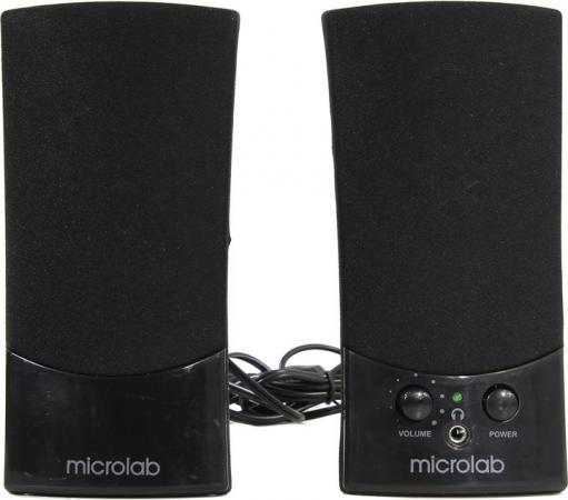 Колонки Microlab B561USB 2x2Вт черный microlab microlab сюань x5 x6 трибуна черный