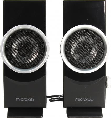 Фото Колонки Microlab B562USB 2х3 Вт черный серебристый гарнитура microlab k767p черный