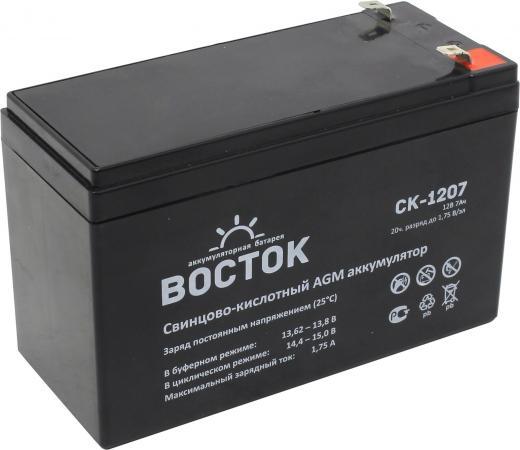 Батарея Восток СК 1207 12V 7.2Ah восток 350503