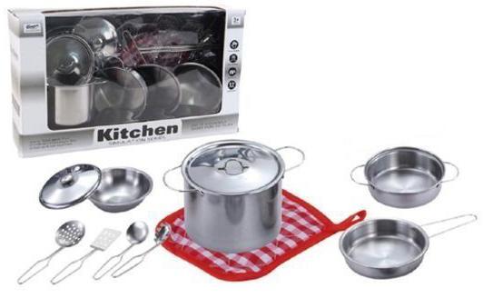 """Набор посуды Shantou Gepai """"Будущий повар"""" металлическая PY555-BX003 стоимость"""