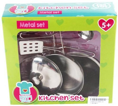 Набор посуды Shantou Gepai Кухня металлическая 5 предметов