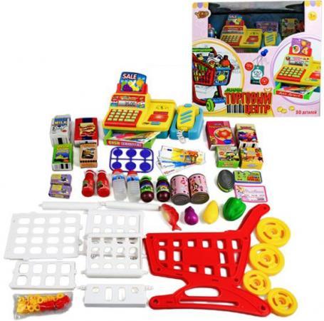 Игровой набор Shantou Gepai Торговый центр с аксессуарами (свет, звук) 28 предметов shantou gepai игрушка пластм касса электронная продукты сканер shantou gepai