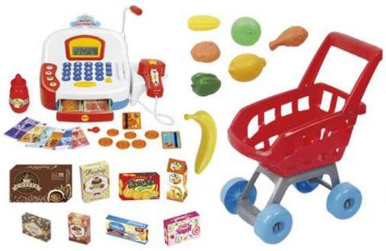 Игровой набор Shantou Gepai Радочка - Супермаркет (свет, звук) 32 предмета 66061 игра shantou gepai набор супермаркет радочка 32 дет 66061