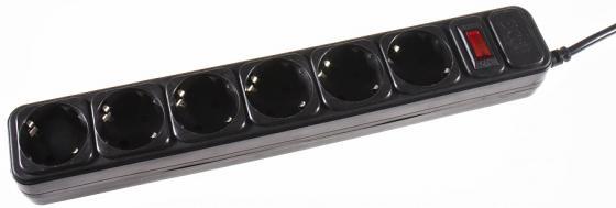 Сетевой фильтр 3Cott 3C-SP1006B-1.8 6 розеток 1.8 м коробка сетевой фильтр 3cott 3c sp1006b 5 0 6 розеток 5 м