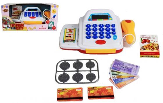 """Игровой набор Shantou Gepai """"Торговый центр""""- со сканером и набором денег свет, звук все цены"""