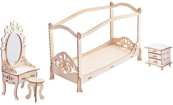 Набор мебели Большой слон Спальня М-008 кукольные домики и мебель paremo набор мебели спальня
