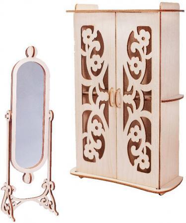 Набор мебели Большой слон Гардеробная М-010 большой слон мебель для кукол спальня