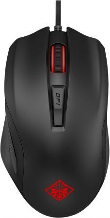Мышь проводная HP Omen 600 чёрный USB 1KF75AA цена и фото