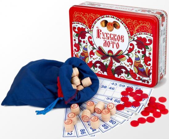 Настольная игра лото Русский Стиль Русское лото - Узоры настольная игра лото десятое королевство русские узоры жестяная коробка