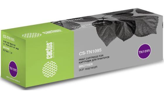 Картридж Cactus CS-TN1095 для Brother DCP 1602/1602R черный 1500стр лента ламинирования brother tz211 tze211 6мм для pt 1010 1280 1280vp 2700vp