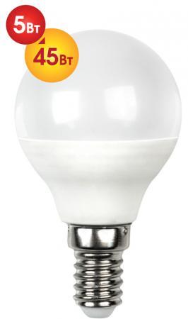 цена на Лампа светодиодная груша Dialog G45-E14-5w-3000k E14 5W 3000K