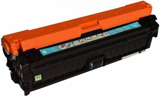 Картридж Cactus CS-CE741AV для HP CLJ CP5220/CP5221 голубой 7300стр тонер картридж hp ce743a пурпурный для hp clj cp5225 7300стр