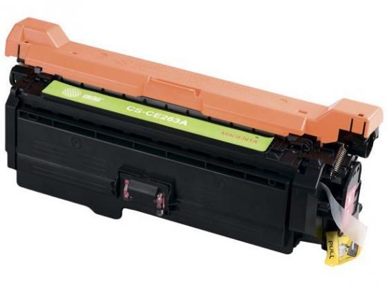 Картридж Cactus CS-CE263AV для HP LJ CP4025/CP4525 пурпурный 11000стр картридж cactus cs ce260ar для hp lj cp4025 cp4525 cm4540 черный 8500стр