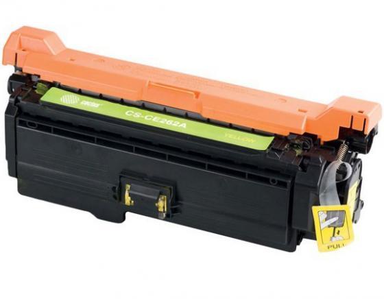 Картридж Cactus CS-CE262AV для HP LJ CP4025/CP4525/CM4540 желтый 11000стр 100% original transfer kit unit for hp cp4025 cp4525 4025 4525 4540 hp4025 hp4525 ce249a transfer belt assembly on sale