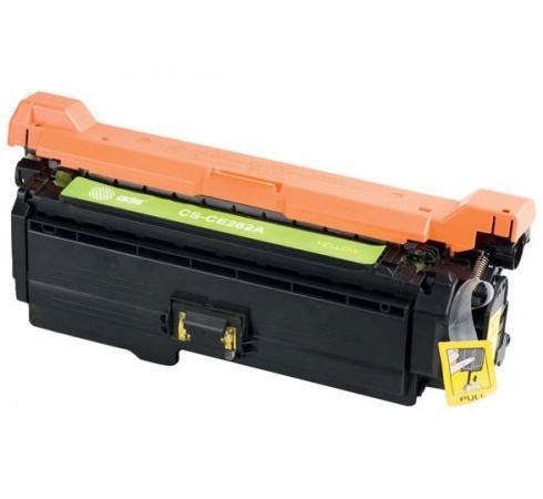 Фото - Картридж Cactus CS-CE262AR для HP LJ CP4025/CP4525/CM4540 желтый 11000стр картридж hp ce262a для clj cp4525 желтый 11000стр