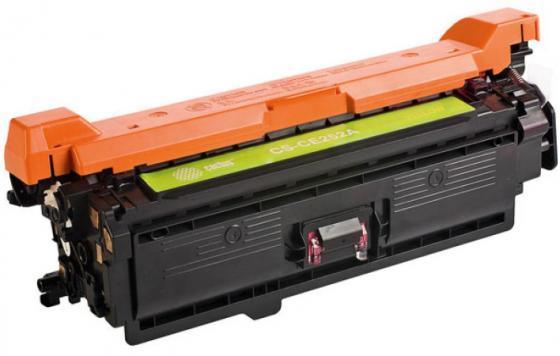 Фото - Картридж Cactus CS-CE252AV для HP CLJ CP3525/CM3530 желтый 7000стр тонер картридж cactus cs ce250av черный 5000стр для hp clj cm3530 cp3525