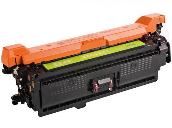 Фото - Картридж Cactus CS-CE251AV для HP CLJ CP3525/CM3530 голубой 7000стр тонер картридж cactus cs ce250av черный 5000стр для hp clj cm3530 cp3525