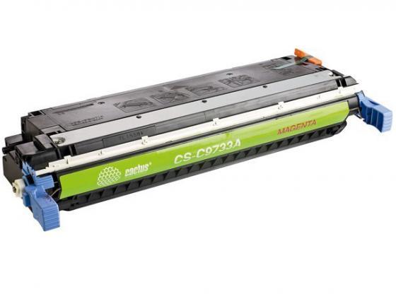 Фото - Картридж Cactus CS-C9733AV для HP CLJ 5500/5550 пурпурный 12000стр картридж hp c9731ac для hp laserjet 5500 голубой 12000стр