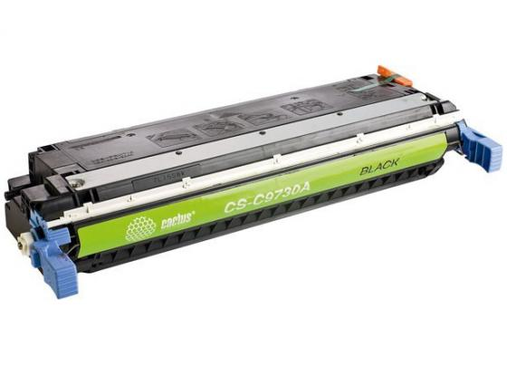 Фото - Картридж Cactus CS-C9730AV для HP CLJ 5500/5550 черный 13000стр картридж cactus cs q7551x cs q7551xs для laserjet p3005 m3035mfp m3027mfp 13000стр