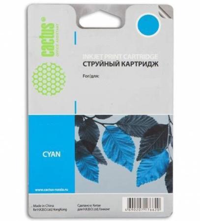 Фото - Картридж Cactus CS-F6U16AE для HP OJ Pro 7740/8210/8218/8710/8715 голубой hp 953xl f6u16ae голубой