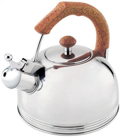 Чайник Wellberg WB-511 серебристый 3.5 л нержавеющая сталь чайник kitchenaid kten20sbob чёрный 1 9 л нержавеющая сталь