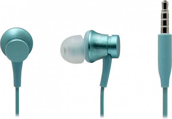 Фото - Наушники Xiaomi Mi In-Ear Headfones Basic голубой беспроводные наушники xiaomi redmi airdots mi true wireless earbuds basic черные twsej04ls zbw4480gl