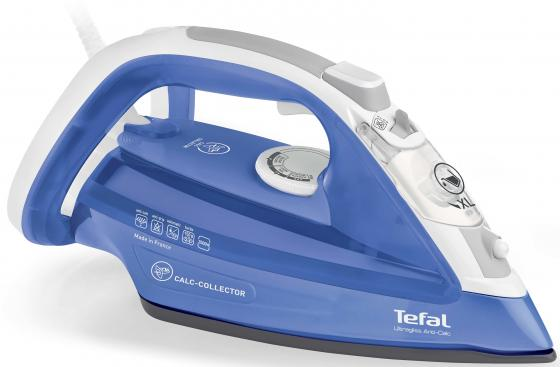 Утюг Tefal FV4944EO 2500Вт синий утюг tefal turbo pro fv5630e0