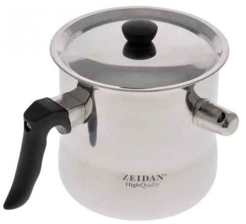 Молоковарка Zeidan Z-1174 13 см 2 л нержавеющая сталь чайник zeidan z 4110 2 7 л нержавеющая сталь серебристый