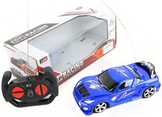Машинка на радиоуправлении Shantou Gepai Top Racing синий от 3 лет пластик 1:24, 4 канала гордон ю книга про буквы от аа до яя