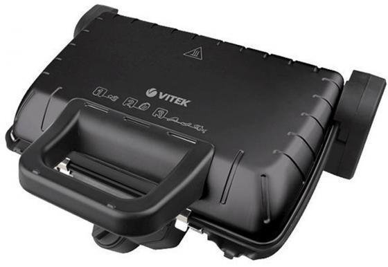Электрогриль Vitek VT-2632(BK) чёрный выпрямитель волос vitek vt 8402 bk 35вт чёрный