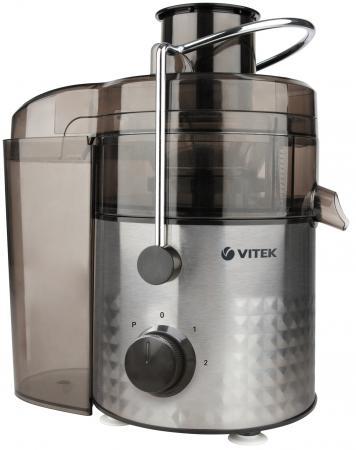 купить Соковыжималка Vitek VT-3658 ST 800 Вт серебристый по цене 2520 рублей