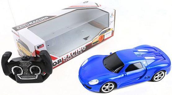 Машинка на радиоуправлении Shantou Gepai Top Racing синий от 3 лет пластик, металл 388-10E радиоуправляемая игрушка shenglong racing team red white 757879