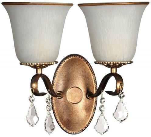 Бра Arti Lampadari Borgese E 2.1.2.602 GB arti lampadari подвесная люстра arti lampadari borgese e 1 1 8 602 gb