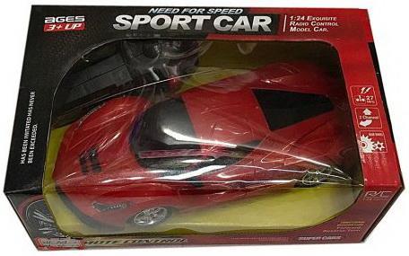 Машинка на радиоуправлении Shantou Gepai Sport Car красный от 3 лет пластик машинка на радиоуправлении shantou gepai chevrolet camaro красный от 3 лет пластик 1623 2a