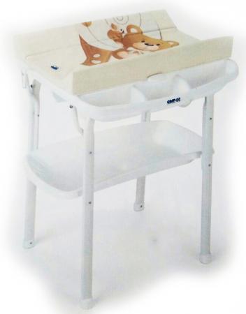 Стол пеленальный с ванночкой Cam Aqua (цвет 219) пеленальные столики cam nuvola с ванночкой