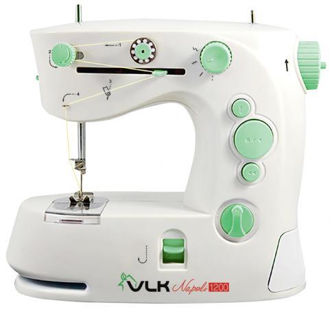 Швейная машина VLK Napoli 1200 белый электромеханическая швейная машина vlk napoli 2100