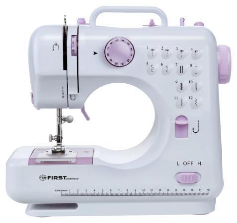 Швейная машина First FA-5700-2 белый пурпурный швейная машина bernina bernette london 2
